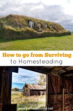 Disaster hits and you flee to your bug out location. You grab your survival backpack and use your outdoor survival tactics to stay alive. But in the event of a long-term disaster what next? In order to thrive after shtf you need to shift your mindset to homesteading. Here are the 4 crucial elements which need to be secured to make the transition. #disasterpreparedness #shtf #homesteading #selfsufficient #survival
