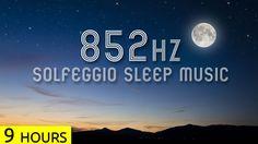852Hz | Transform Cells to Higher Energy Systems in Sleep | Solfeggio Sl...