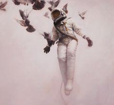 "Jeremy Geddes ""White Cosmonaut"" by jan"