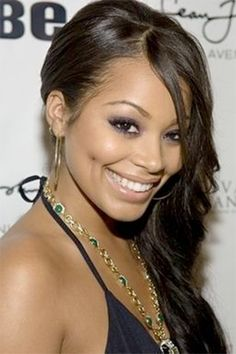 Beautiful Black Women, Beautiful People, Beautiful Females, Pretty People, Lauren London Nipsey Hussle, Meagan Good, Black Actresses, Flawless Face, Celebrity Beauty