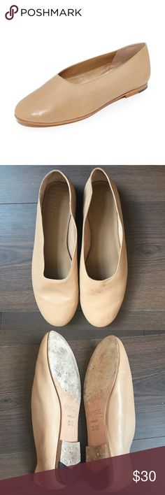 Vince Maxwell Leather Flats Pre-loved iconic Vince Maxwell flats. Leather is butter soft. This is such a cool pair of shoes. These have some wear but are still in great shape. Vince Shoes Flats & Loafers