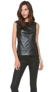 BCBGMAXAZRIA Roxy Quilted Faux Leather Skirt |