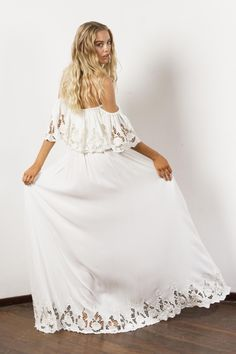 """Wonder Years"" Women's embroidered maxi dress - Ivory Fillyboo - Boho inspired maternity clothes online, maternity dresses, maternity tops and maternity jeans. Boho Maternity Dress, Maternity Tops, Boho Dress, Maternity Jeans, Maternity Wardrobe, Maternity Nursing, Maternity Style, Dress Lace, Ukraine"