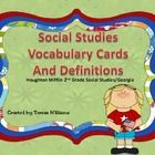 Social Studies Vocabulary Cards/ Houghton Mifflin 2nd Grad   # Pin++ for Pinterest #
