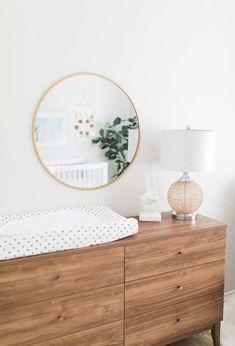 Decoração fácil e econômica para quarto de bebê simples