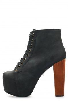 Los Litas de Jeffrey Campbell, altos, pero cómodos:   16 Zapatos de plataforma perfectos para usar todo el año
