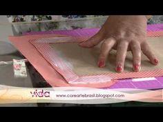 Aprenda a fazer uma linda capa pra agenda de 2012! - YouTube