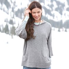 HIGH COUNTRY CASHMERE HOODIE