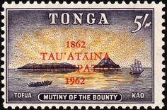 tonga volcano stamps ~~ The underwater eruption was taking place near the low-lying twin volcanic islands of Hunga Tonga and Hunga Ha'apai, and within sight of the capital, Nuku'alofa. Polynesian Islands, Postage Stamp Collection, Postage Stamp Art, Tonga, British Colonial, Small Art, Retro Art, Stamp Collecting, Travel Posters