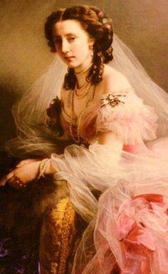Portrait of Anne of Hesse, Princess of Prussia — Franz Xaver Winterhalter