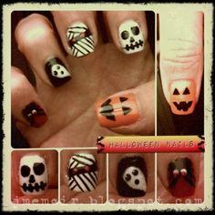halloween nail designs | Halloween Nail Art