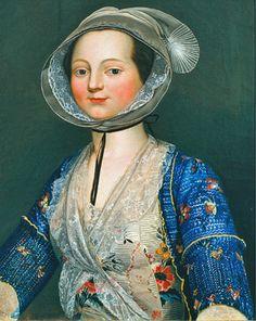 Portrait d'Arlésienne Antoine Raspal 1785 Museon Arlaten Blog de Garibondy