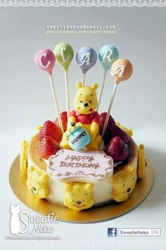 . Waffles, Pancakes, Homemade Sweets, Novelty Cakes, Winnie The Pooh, Cheesecake, Breakfast, Celebration, Food