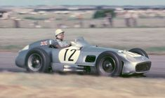 #12 Stirling Moss (GB) - Mercedes-Benz W196