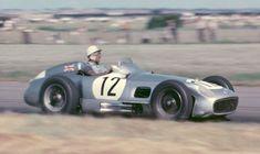 #12 Stirling Moss (GB) - Mercedes-Benz W196
