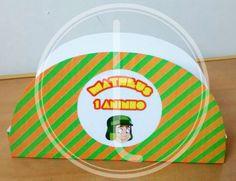 Porta guardanapo artesanal personalizado Chaves