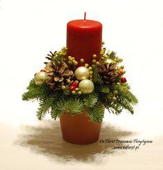Kompozycje, stroiki i wianki na Boże Narodzenie - Kwiaciarnia De Florist