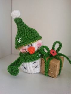 Hello everybody . Today I have for you FREE little snowman pattern! * using this pattern you could create toy, Christmas decoration . Crochet Snowman, Crochet Christmas Ornaments, Christmas Crochet Patterns, Christmas Toys, Christmas Knitting, Crochet Winter, Holiday Crochet, Crochet Gifts, Crochet Toys
