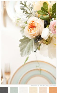 photography by Yan Photography and floral design by Sarah Winward via creature comforts