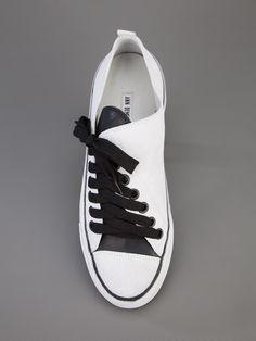 ANN DEMEULEMEESTER BLANCHE : asymmetric sneaker | Sumally (サマリー)