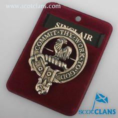Sinclair Clan Crest Badge