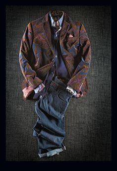 Curated Fall Looks 2014 Robert Graham, Sharp Dressed Man, Well Dressed Men, Dapper Gentleman, Gentleman Style, Stylish Men, Men Casual, Daily Fashion, Mens Fashion