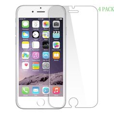 [4 Pack] IPhone 7 Plus Screen Protector, LANYI Premium Tempered Glass Screen Pro #LANYI