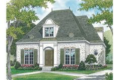french country cottage stone front - Google Search