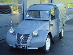 Citroën 2 CV AZU Wellblech Kastenente Fourgon,perfekt als Kleinwagen in Reutlingen