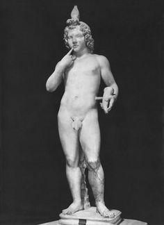 Arpocrate, statua di marmo, epoca romana, II sec. d.C., Roma, Musei Capitolini