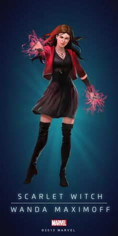 Scarlet Witch Poster-01