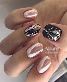 Здесь все, что я люблю А чем вам понравились эти ногти? P.s: на фото жемчужная втирка на светлом камуфляже( приобрести такую можно в нашем магазине @allure_nailshop )