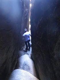 """Chasm of Doom"" cave system, Joshua Tree National Park"