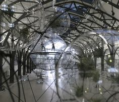 Tomás Saraceno's installations shatter traditional concepts relating to place, time, gravity and traditional ideas as to what constitutes architecture. His works are utopian and invite the viewer to play a part in their impact on a particular space, as they reach up to the sky and down to the ground. The artist creates gardens that hang in the air and allow visitors to float in space, fulfilling a dream shared by all humankind. Saraceno draws inspiration from soap bubbles and the incredible…