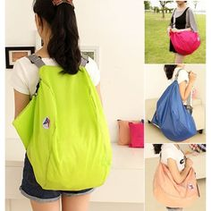 Material: Nylon   4 Colors for your choice: Blue, Green, Pink, Rose Red  Item: Travel Bags   Travel Bag: Travel Duffle   Closing: Zipper   Item Width: 2 cm   With Retractable Handle: No   Item Height: 28 cm   Gender: Women    Pattern: Solid   Hardness: Soft   Style: Fashion   Occasion: Versatile   Item Length: 52 cm   Composition: Poly   Unfolded Size: 52 * 28 * 27cm   Folded Size: 19 * 16cm   Zipper Length: 53cm   Shoulder Belts :51-86cm   Type: Women Travel Bags   Popular Element: Candy…