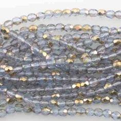 Eureka Crystal Beads - Round 3mm Firepolish Beads MONTANA APOLLO GOLD Czech Glass (50 pcs), $1.40 (https://www.eurekacrystalbeads.com/round-3mm-firepolish-beads-montana-apollo-gold-czech-glass-50-pcs/)