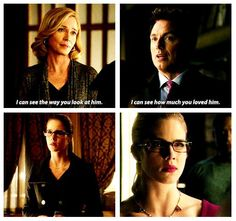 Arrow - Felicity, Moira & Malcolm #1.13 #3.10 #Olicity