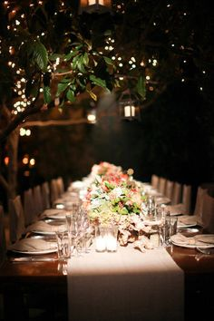 Twilight. Flowers, Candles flickering all around you, and music- Are you excited for our wedding?