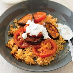 Earthy and versatile, eggplant pairs well with traditional Turkish spices, namely, paprika, cumin, cayenne pepper, and cinnamon.