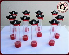 Tubete chapéu pirata