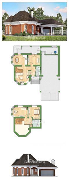 Ev villa projesi 180-007-R | House Expert