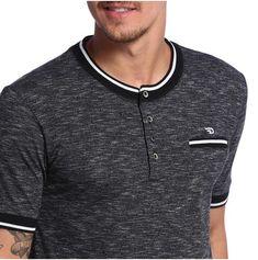 Camisa Polo, Polo Rugby Shirt, Half Sleeves, Mens Tees, Printed Shirts, Casual, Shirt Designs, Menswear, Sweatshirts