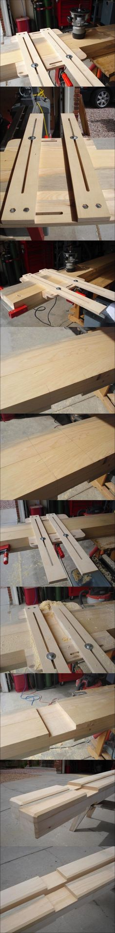 How To Dado A Large Beam...