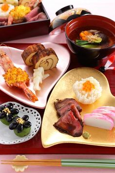 Traditional Japanese dishes for New Year, Osechi おせち料理