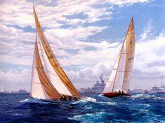Australia+II+versus+Liberty+in+1983,+Newport+Rhode+Island (1430×1071)