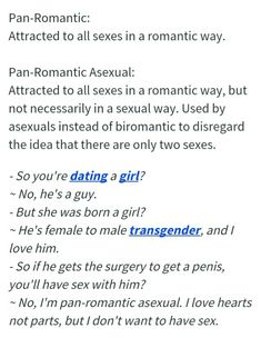 Panromantic asexual dating site