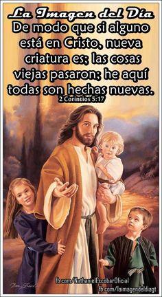 """12 de octubre de 2014 - """"El que está en #Cristo, se convierte en una nueva criatura"""" #UnaVsinBniV"""