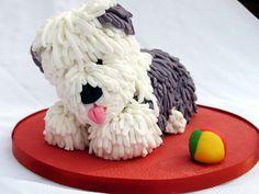 The Cake Room - Old English Sheep Dog Cake
