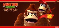 A Nintendo anunciou surpresa sobre Donkey Kong Country Returns 3D \o/ A versão pra 3DS terá conteúdo novo, onde o gamer terá acesso a modo mais fácil. Resgatando as letras K-O-N-G do modo, os gamers poderão ir a estágios de troféus e quem completar as fases receberá surpresa EXCLUSIVA da Nintendo 3DS! #DonkeyKong #3DS #Nintendo