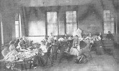 Patients Sewing at the Cherokee State Hospital for the Insane, early Native American Proverb, Native American Indians, Native Americans, Old Hospital, Abandoned Hospital, Mental Asylum, Insane Asylum, Powerful Pictures, Psychiatric Hospital